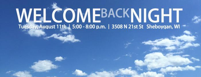 Welcome Back Night Header Image